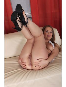 Lisa Ann Shares Cock In...